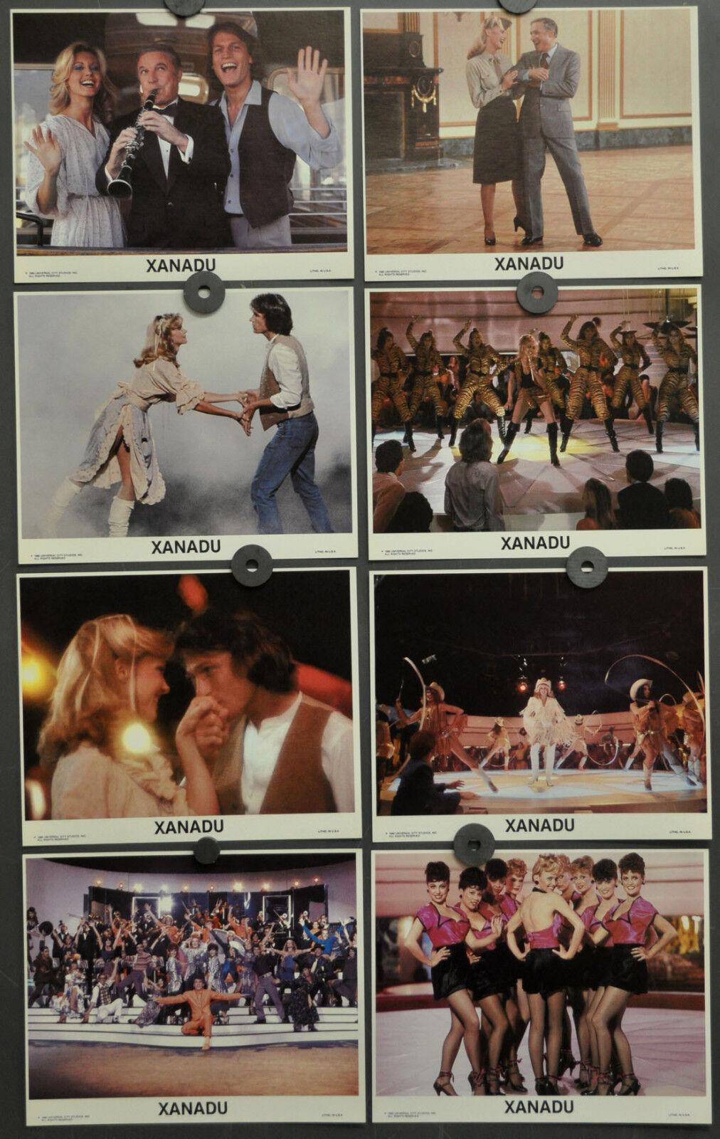 Xanadu 1980 Original 8X10 NM Lobby Karte Set Olivia Newton-John Gene Kelly