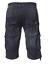 ETO Da Uomo Designer Dark Blue Stone Wash Combat Pantaloncini di Jeans Casual Jeans