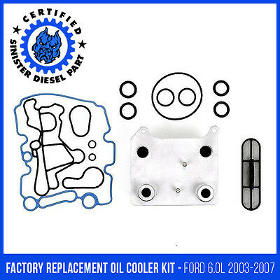 CNS oil cooler gasket set Ford 6.0 2003-2007 Powerstroke Diesel F250 F350 F450