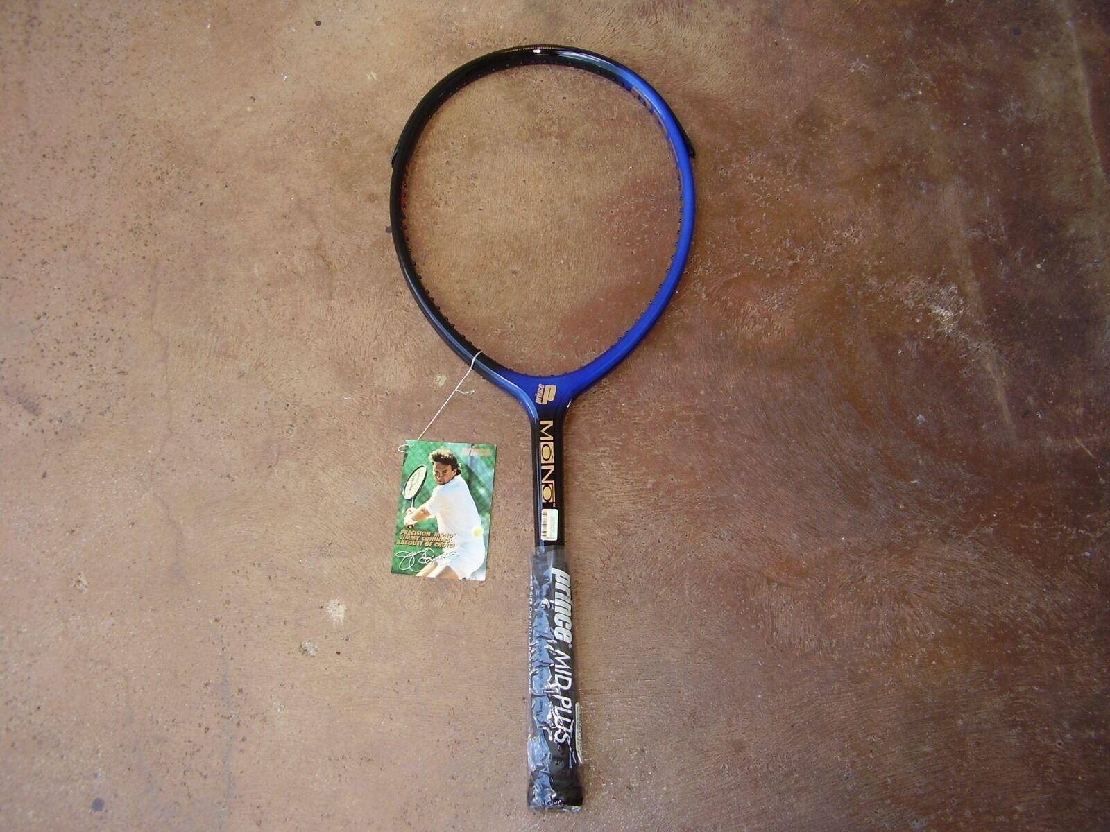 Nuevo Raro Príncipe Mono 650 Conners Tenis Raqueta 41 4 bowout
