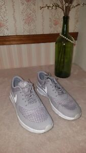 Air Max Thea Sneaker In Atmosphere Grey White