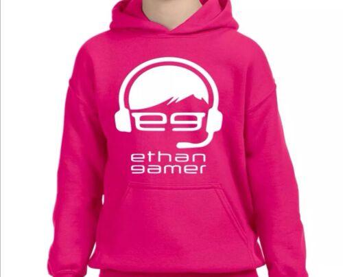 Ethan Gamer Egtv kids hoodie unisex boys girls youtuber gift presents