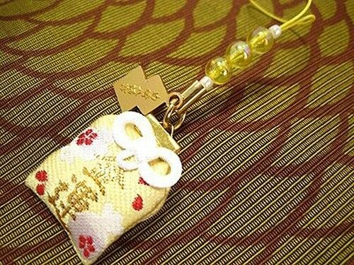 JAPANESE OMAMORI Good luck charm For Rich Money from Japan