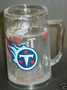 NFL Tennessee Titans 16oz Crystal Freezer Mug