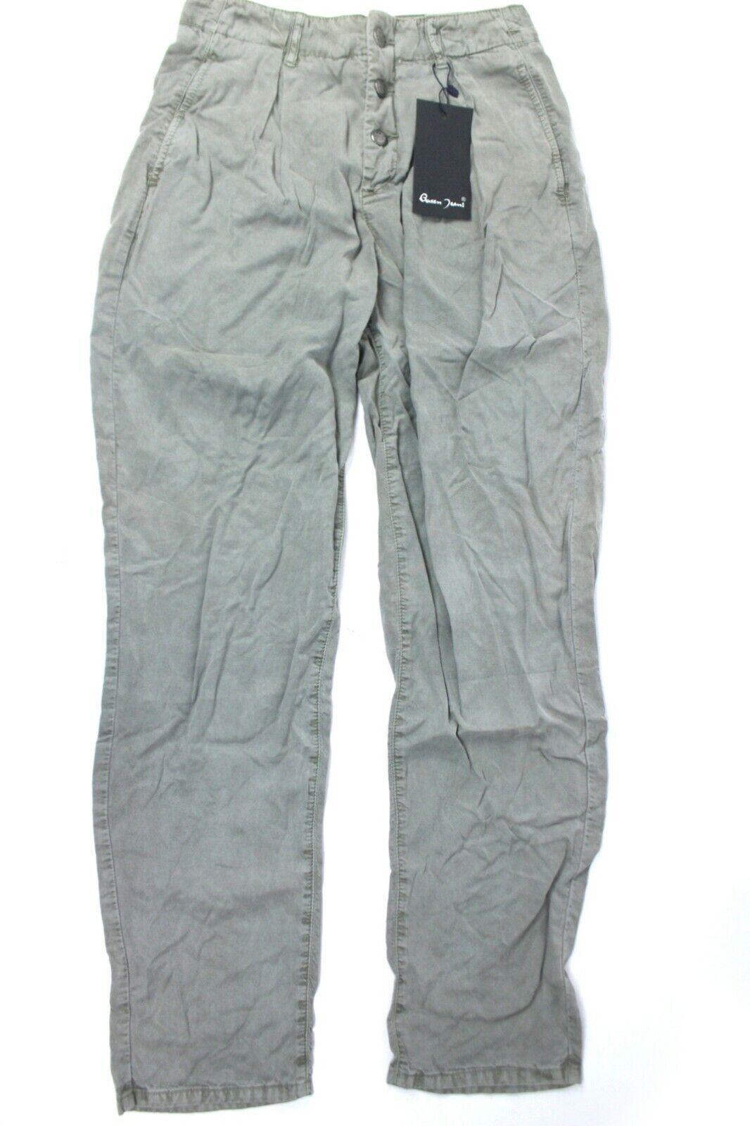 Queen Jeans Damen Jeans Hose Style Golden Gr. 28 Grau Tancel leichte Sommerhose
