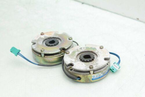 Lot of 2 Ogura Clutch RNB 0.2G Electromagnetic Brakes 24V DC