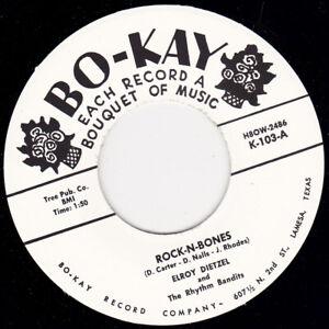 """ELROY DIETZEL - Rock N Bones 7"""" 45"""