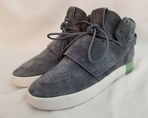 best service fe7d1 681c2 Adidas Originals Tubular Invader Strap Onix Gray Ice Green ...