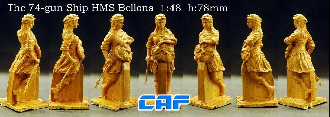 HMS Bellona 1760 74 pistola 1   48 modelo de madera