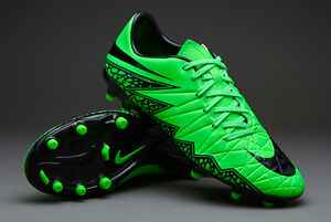2875edfc9906 Mens Nike Hypervenom Phelon II FG Green Strike Cleat Sz 12 Shoes ...