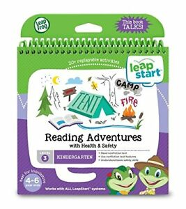 LeapFrog 21609 LeapStart Reception Reading Adventures and Health and Safety Activity Book