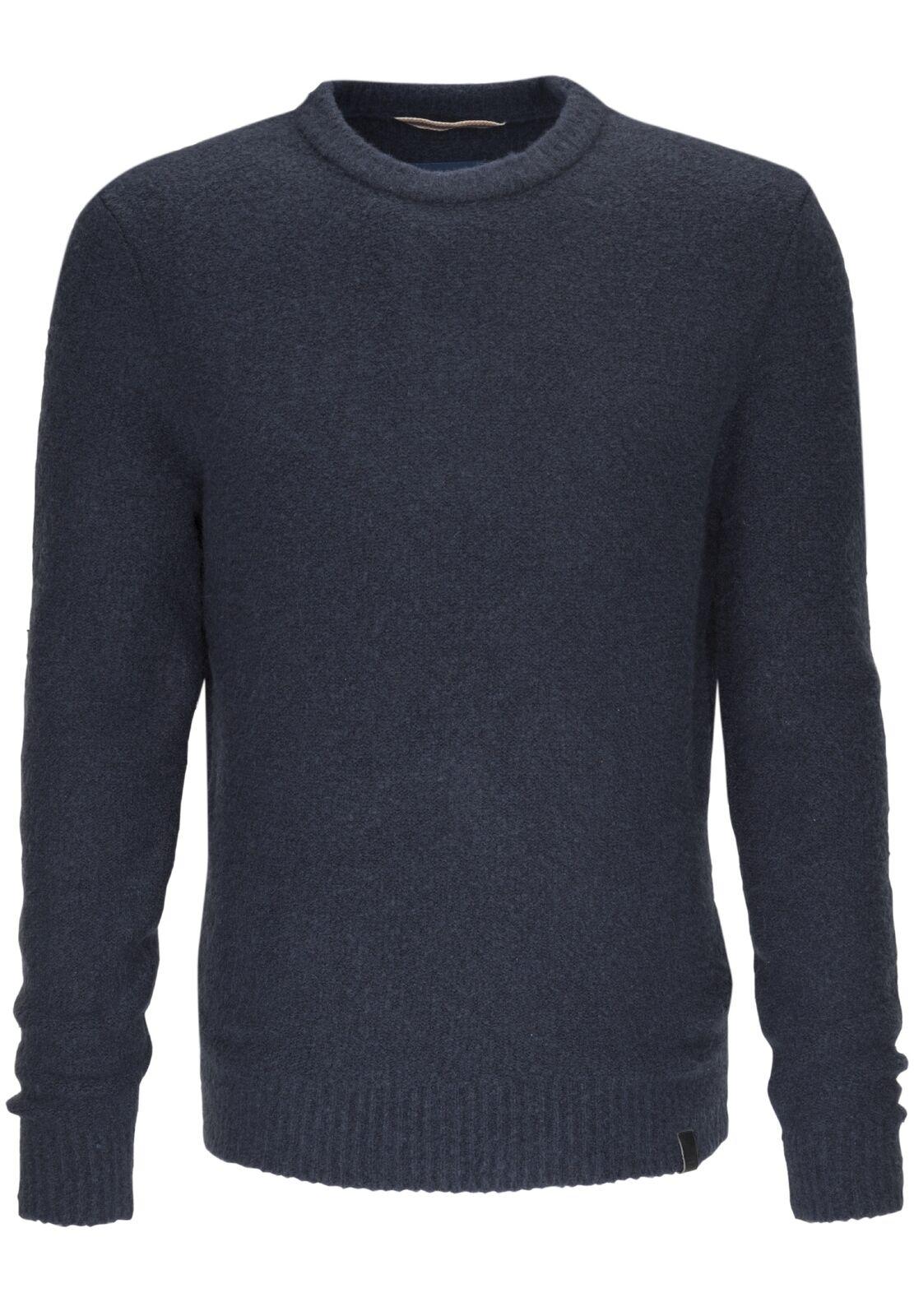 Camel active Herren Herren Herren Pullover Denim, blau, 344402 19, NEU | Stilvoll und lustig  7e5b6e