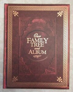 Our-Family-Tree-And-Album-Hardcover-96-Pages-Ancestry-History-Genealogical-New