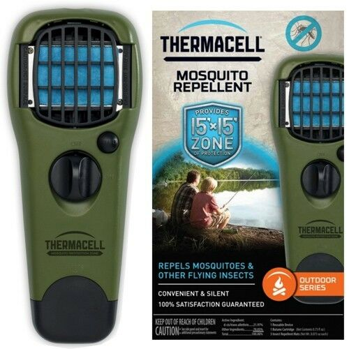 THERMACELL Green  Mosquito Repellent +3x Mats +Cartridge - USA Ships Free  sale with high discount