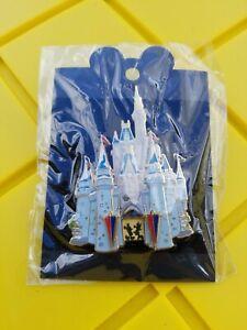 Disney-Cast-Member-Castle-Series-Cinderella-039-s-Castle-3D-Jumbo-Pin