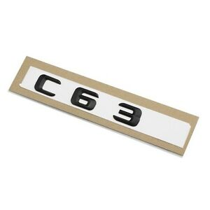 c63 mercedes amg schriftzug emblem logo sticker aufkleber. Black Bedroom Furniture Sets. Home Design Ideas