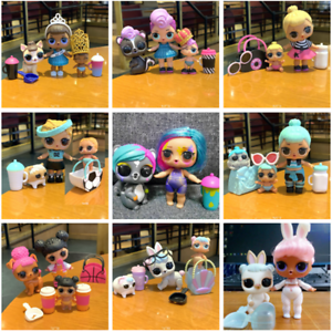 Limited LOL Surprise Glam Glitter Kitty Queen Bee UNICORN Splatters Doll toys