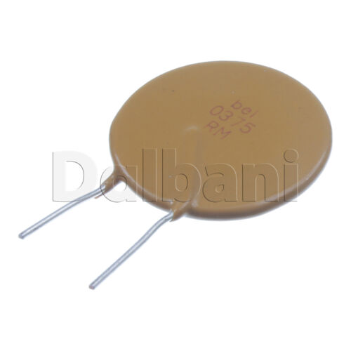 10pcs 0ZRM0375FF1A Polyswitch Resettable Fuse 3.75A 120V 2 Pin PTC