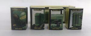 VINTAGE-ERTL-JOHN-DEERE-HISTORICAL-4-PIECE-TOY-SET-1988-NEW-1-64-5523-IHEO