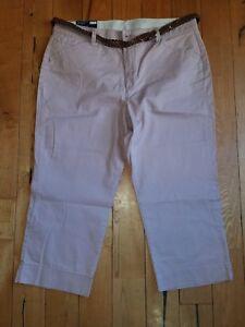667a45efd42 Image is loading NWT-Womens-BANDOLINO-Petal-Dust-Maureen-Capri-Pants-