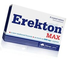 Olimp Labs Erekton Max 8 tablets, potency, libido, enhancer sex - free shipping