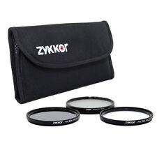 Slim 52mm Filter Kit UV CPL ND for Nikon D3000 D3100 50mm f/1.8D AF NIKKOR lens