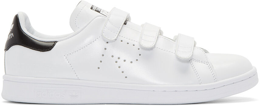 Raf Simons  White adidas Edition Stan Smith Comfort Sneakers UK5.5 US8.5