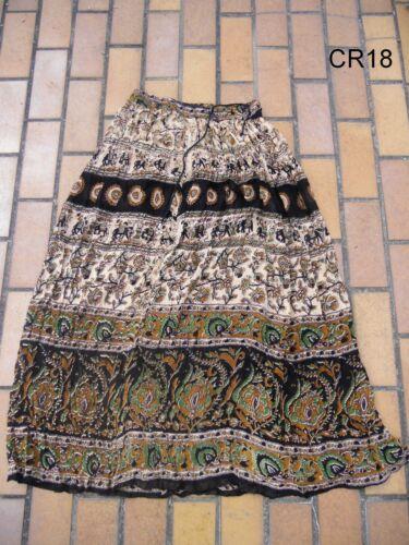 Crinkle Rock Gypsy tribal ethno Indien Inde Nepal goa jupe psy skirt nomad hippy
