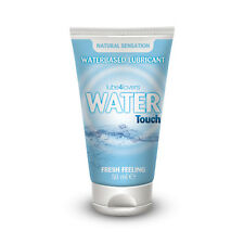 lubrificante intimo sessuale ALL'ACQUA WATER TOUCH 50 ML LUBE4LOVERS