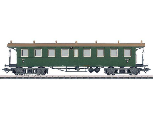 Märklin 42132 h0 AC treno rapido-piattaforma carrello 3. Kl., CCI (K.W. ST. e), NUOVO