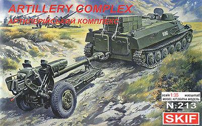 TRAIN D/'ARTILLERIE DIVISIONNAIRE SOVIETIQUE KIT ICM 1//35 REF.35482
