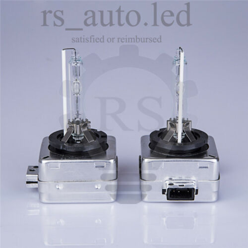 2x D1S HID Xenon Blanc Ampoules 6000K 35 W Remplacement Phares LOW BEAM BMW