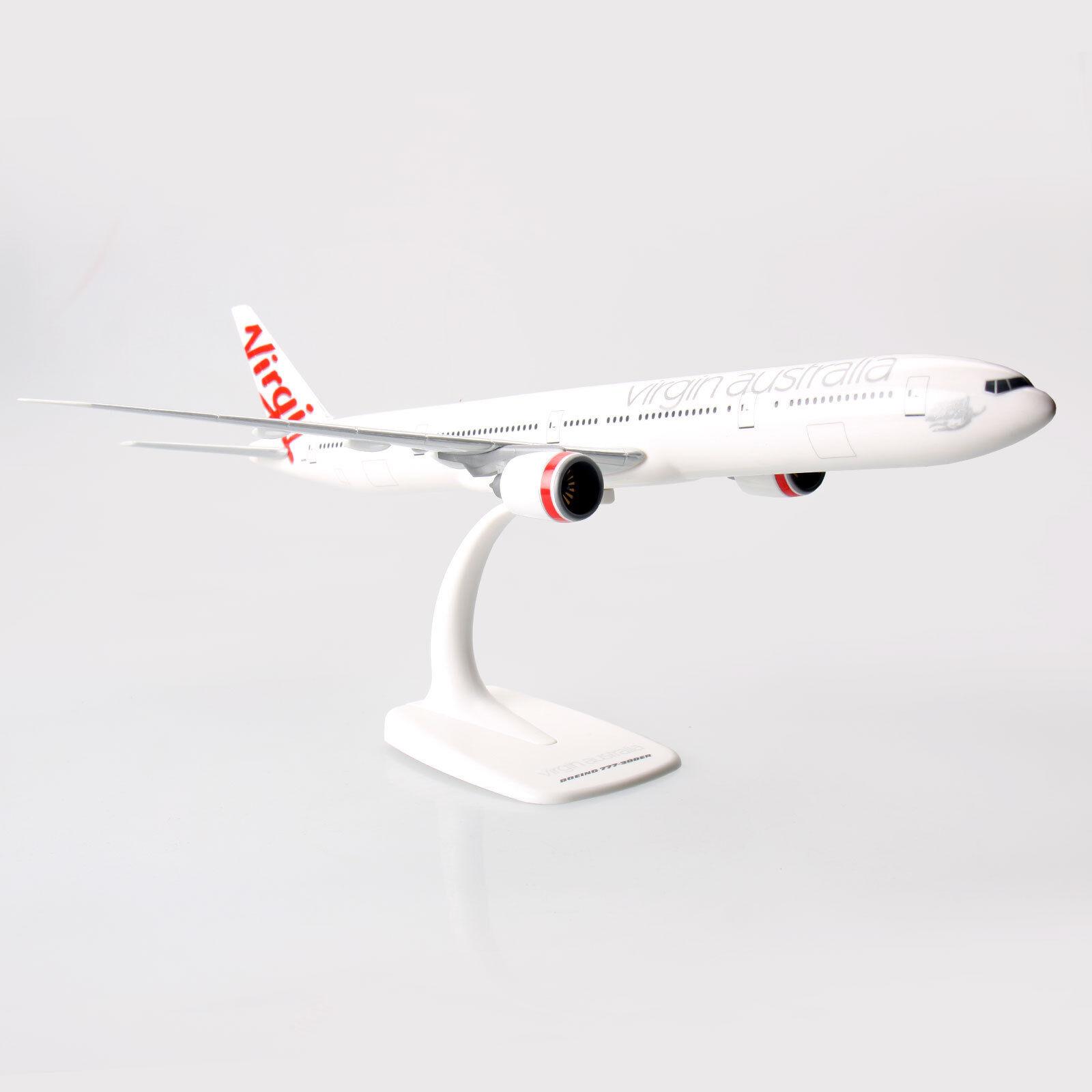 Virgin Australia Boeing 777-300ER 1 200 Escala Modelo de Avión 777 de plástico sólido