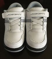 Jordan Flight 23 Bt Infant Baby Toddlers Shoes White/black-wolf Grey, Sz 5c