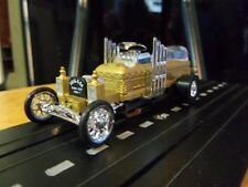 "George Barris ""The Munsters Drag U La"" Dragster Custom HO Slot Car Aurora Tjet"
