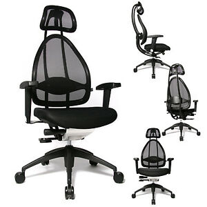 Image Is Loading Topstar Open Art  Premium Ergonomic Office Chair