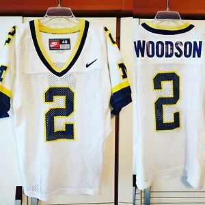 sports shoes 27522 93f6a Details about Charles Woodson 1997 Michigan Wolverines Heisman Nike  Authentic Jersey Size 48