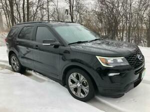 2018 Ford Explorer Sport SPORT With only 47500 km  $162 weekly