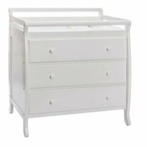 Details About Dream On Me Liberty 3 Drawer Changing Table In White