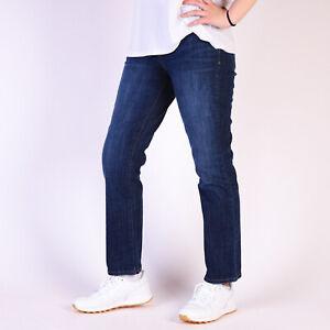 Levi-039-s-505-Straight-Dunkel-Wash-Damen-Jeans-31-30