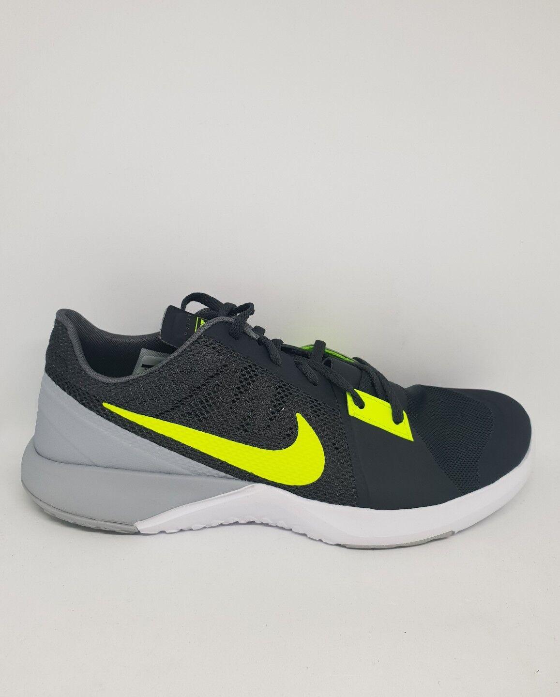NIKE Fs Fs Fs Lite Trainer Uomo scarpe da ginnastica Scarpe Grigio uk7 tg. 41 NUOVO f82056