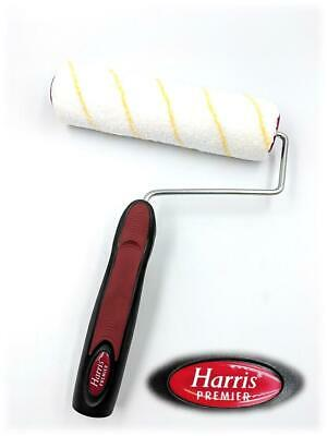"""Harris Vanquish Complete Roller Set 9/"""" Sleeve /& Cage Handle Emulsion Paint Tray"""
