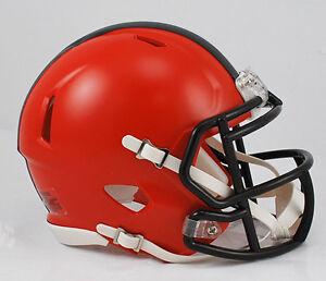 CLEVELAND-BROWNS-NFL-Riddell-SPEED-Mini-Football-Helmet