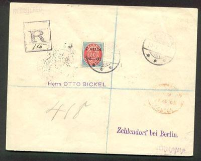 50aur I Gildi Tied Reykjavik Zu Deutschland Sonderabschnitt Island 1903 Gronlund Zertifikat QualitäT Zuerst