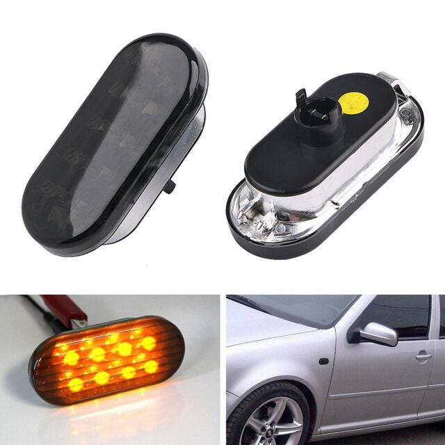 Car LED Side Marker Light Lamp for Volkswagen Passat B5//B5.5 1997-2004 Clear