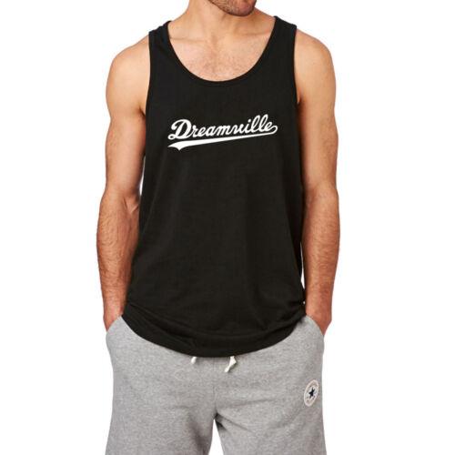 Mens Dreamville Records Music Fans Gym Workout Yoga Tank Top Men