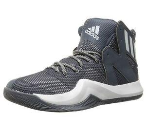 Schoenen110 Crazy Adidas Sneakers 10 Synthetische Us Grijze Basketbal Bounce M Heren thxBsdQrC