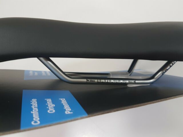 ISM PL 1.1 Crmo Long Road MTB Bicycle Saddle Black VL9104