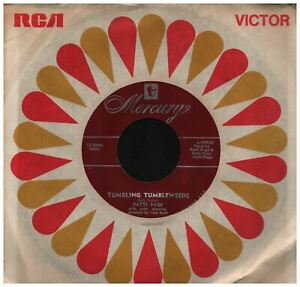 Patti-Page-Tumbling-Tumbleweeds-b-w-I-Want-To-Be-A-Cowboy-039-s-Sweetheart-45-rpm-Re