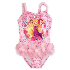 Disney Princess Deluxe Swimsuit for Girls